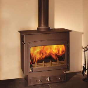 Woodwarm Fireview Slender 14kW